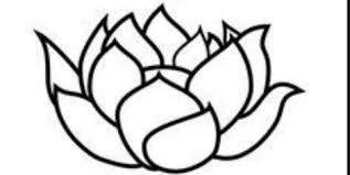 Simple Lotus Flower Drawing - 37 outline lotus tattoos collection