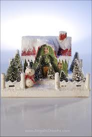 677 best christmas village making one images on pinterest