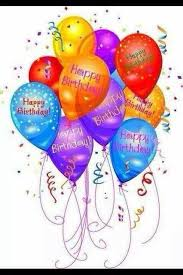 shining birthday balloon card for friends this vibrant birthday