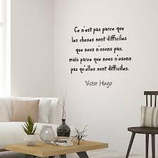 stickers chambre parentale stickers muraux textes célèbres de victor hugo adhésif pour la maison