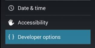 android developer options enable developer options android 4 3 remotexpert inc