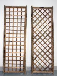 Diamond Trellis Panels Bamboo Trellis Fence