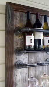Barn Board Wine Rack Best 25 Industrial Wine Racks Ideas On Pinterest Industrial