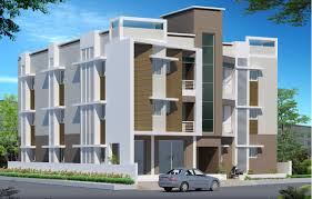 residential building elevation three d elevation design for multi storey residential complex