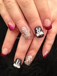 red and white colour nail art best nail 2017 robin moses nail art
