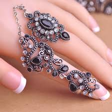 pretty rings pictures images Carved flowers vintage pretty exquisite mid rings fashion turkish jpg