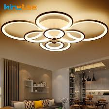 dimmable led ceiling lights new remote control living room bedroom modern led ceiling lights