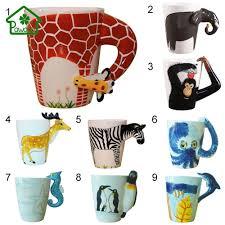 Animal Mug Online Buy Wholesale Animal Shaped Mugs From China Animal Shaped