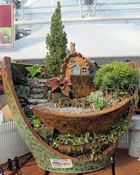 Indoor Garden Containers - 112 best fantasy gardens fairy container gardens images on
