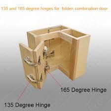 O 165 135 Corner Folded Combination Kitchen Cabinet Door Hinges