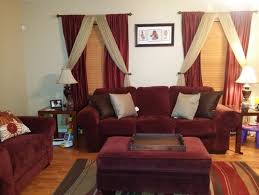Burgundy Curtains For Living Room What Color Curtains And Should I Buy A New Rug Help Groveraxle