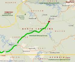 nantahala river map carolina honeymoon cabin for rent driving
