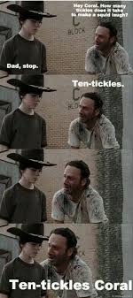 Mean Dad Meme - 31 of the best dad jokes told by walking dead s rick grimes thechive