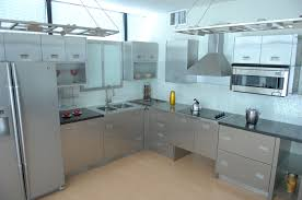 simple stainless steel cabinets reference on stain 1471x900