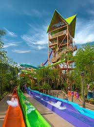now open sea world aquatica s ihu s breakaway falls florida