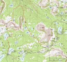 Park City Utah Trail Map by East Of Salt Lake