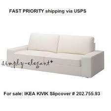 Kivik Sofa Ikea by Ikea Kivik 3 Seat Sofa Cover Slipcover Dansbo White 202 755 93 Ebay