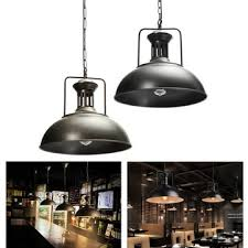 Industrial Pendant Light Shade by Vintage Industrial Pendant Iron Ceiling Hanging Light Fixture Lamp
