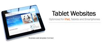 tablet optimized html web templates html5 designs for mobile