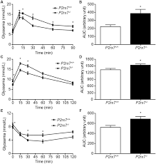 Challenge Blood Glyceamia In P2rx7 Mouse Following Glucose And Insulin