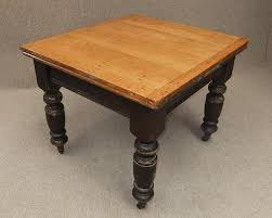 VICTORIAN PINE EXTENDING KITCHEN TABLE - Victorian pine kitchen table