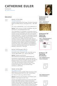 Resume University Adjunct Lecturer Resume Samples Visualcv Resume Samples Database