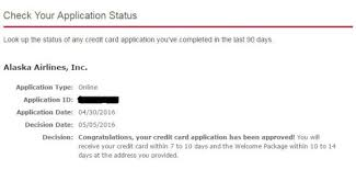 how to check bank of america credit card application status