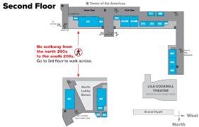Second Floor Plans Convention Floor Plans