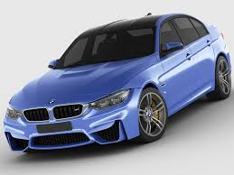Bmw M3 Old Model - bmw m3 f30 3d model in sedan 3dexport
