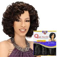 shortcut for black hair milky way que human hair blend weave shortcut series spiral 3pcs