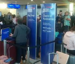 british airways passengers facing significant delays as it glitch