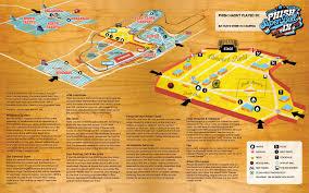 Lollapalooza Map Phish Super Ball Ix Map Bands That Jam