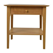 90 off copeland copeland sarah 24 solid maple shaker nightstand