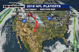 Local Weather Map Nfl Divisional Playoff Saturday Weather Forecast 2018 Quiet Start