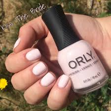 110 orly kiss the bride nails nailswatch orly orlynails
