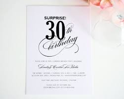 colors simple 30th birthday party invitation wording ideas with