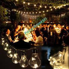 led edison string lights indoor outdoor hanging led bar living room chandelier string lights