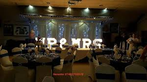 Wedding Backdrop Hire Birmingham Quality Wedding Backdrop With Star Light Hire In Manchester North