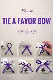 tie ribbon how to tie a bow with favor ribbon simple step by step