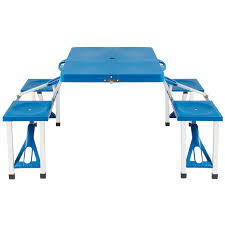 Plastic Folding Picnic Table Outdoor Portable Plastic Folding Picnic Table Cing W 4