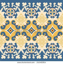 kazakh ornament stock vector 242462914