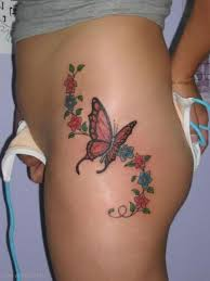 butterfly designs on leg butterfly tattoos designs