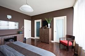 brown wall paint houzz
