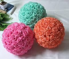 Fake Flower Centerpieces Aliexpress Com Buy 12inch 25cm Wedding Decoration Centerpieces
