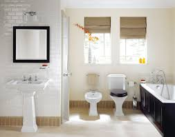 harmonious bathroom for small space decoration establish design