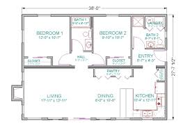 open floor plan cabin plans