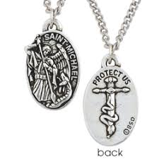 christian necklace bob siemon designs christian necklace michael medal