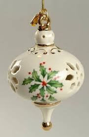 lenox annual holiday pierced ornament at replacements ltd