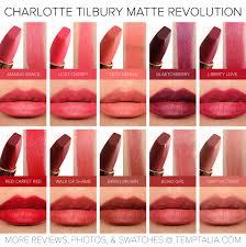 sneak peek charlotte tilbury matte revolution lipsticks photos