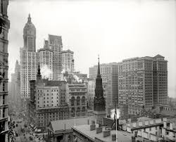 before woolworth the early towers of lower broadway at the birth
